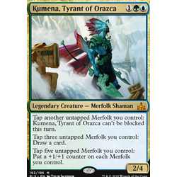 Magic löskort: Rivals of Ixalan: Kumena, Tyrant of Orazca