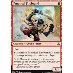 Magic löskort: Rivals of Ixalan: Fanatical Firebrand