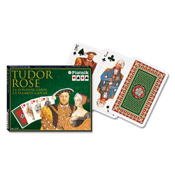 Tudor Rose Kortlek Deluxe (2-pack)