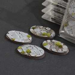 Battle Ready Bases - Temple 60mm Oval (4)