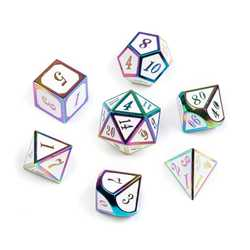 Rainbow Series: White 7-die set