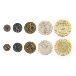 Metal Coins Mythological Monsters (50 st)