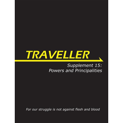 Traveller 3rd ed: Supplement 15 - Powers and Principalities
