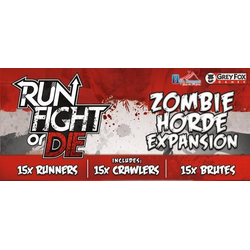 Run, Fight or Die! Zombie Horde expansion