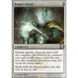Magic löskort: Conspiracy: Brago's Favor