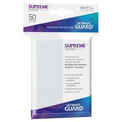 "Card Sleeves Standard ""Supreme UX"" Frosted 66x91mm (50) (Ultimate Guard)"