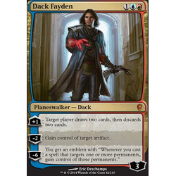 Magic löskort: Conspiracy: Dack Fayden