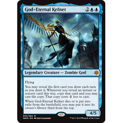 Magic löskort: War of the Spark: God-Eternal Kefnet