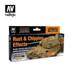 Vallejo Paint Set Rust & Chipping Effects