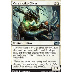 Magic löskort: M15: Constricting Sliver