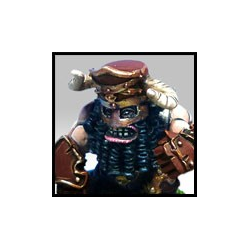 Fantasy Football Chaos Dwarves - Volmarian Chaos Dwarf 2 (Greebo)