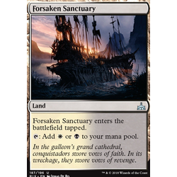 Magic löskort: Rivals of Ixalan: Forsaken Sanctuary
