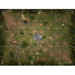 Mage Wars Arena: Straywood Forest Play Mat