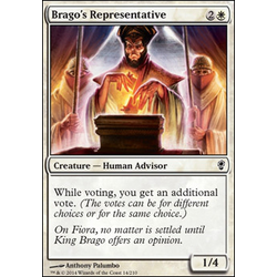 Magic löskort: Conspiracy: Brago's Representative