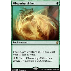 Magic löskort: Dragons of Tarkir: Obscuring Aether (foil)