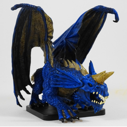 D&D Miniatures Game: Gargantuan Blue Dragon (Limited Edition)