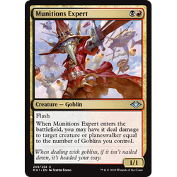 Magic löskort: Modern Horizons: Munitions Expert