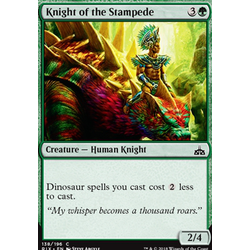 Magic löskort: Rivals of Ixalan: Knight of the Stampede