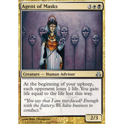 Magic löskort: Guildpact: Agent of Masks