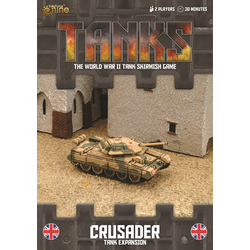 TANKS: British Crusader Tank