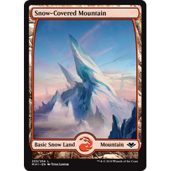 Magic löskort: Modern Horizons: Snow-Covered Mountain