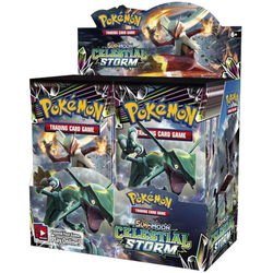 Pokemon TCG: Sun & Moon 7 Celestial Storm Booster Display (36 boosters)