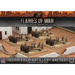 American 105mm Field Artillery Battery (plastic)