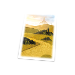 "Card Sleeves Standard ""Lands ed - Plains"" 66x91mm (80) (Ultimate Guard)"