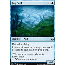 Magic löskort: Battlebond: Fog Bank