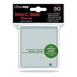 Ultra Pro Board Game Sleeves Special Sized (69mm x 69mm) (50)
