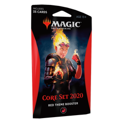 Magic The Gathering: Core 2020 (M20) Theme Booster Pack - Red