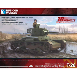 Rubicon: Soviet T-26 Light Infantry Tank