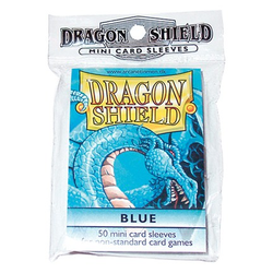 Dragon Shield Sleeves - Mini Blue (50 ct. in bag)