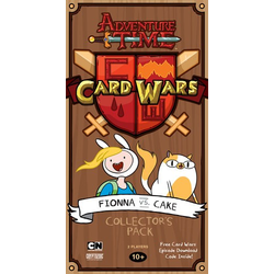 Adventure Time Presents: Card Wars (Fionna vs Cake)