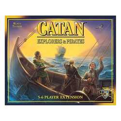 Settlers från Catan: Äventyrare & Pirater 5-6 (expansion, sv. regler)