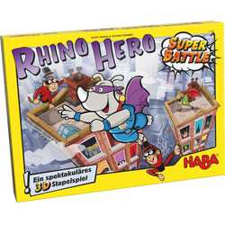 Rhino Hero: Super Battle (eng. regler)