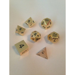 Metallic Dice: Gold (Solid Metall)