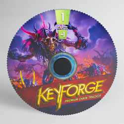 GameGenic Keyforge Premium Chain Tracker Dis