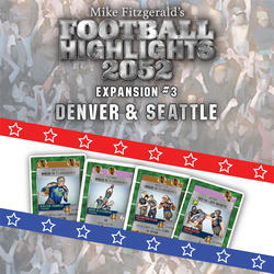 Football Highlights 2052: Expansions - #3 Denver & Seattle