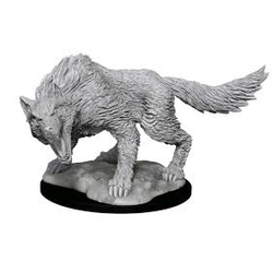 Nolzur's Marvelous Miniatures (unpainted): Winter Wolf