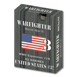Warfighter WWII: Expansion 16 - United States 3 (US Marines 1)
