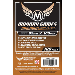 "Mayday ""7 Wonders"" Clear (65 x 100 mm) (Pack of 100)"