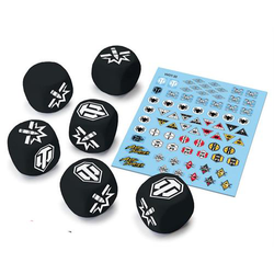 World of Tanks Miniature Game: Tank Ace Dice & Decals