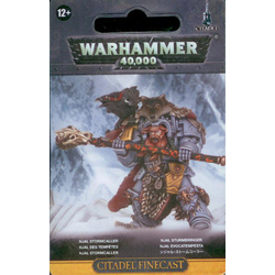 Space Wolves Njal Stormcaller in Terminator Armour (finecast)