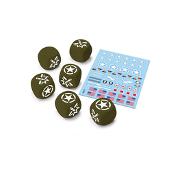 World of Tanks Miniature Game: U.S.A. Dice and Decals