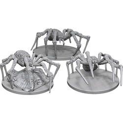 Nolzur's Marvelous Miniatures (unpainted): Spiders (3)