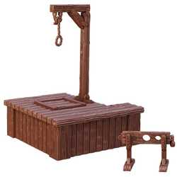 TerrainCrate: Gallows and Stocks