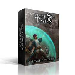 Nord Games: Treacherous Traps - Trap Card Deck CR 17-20