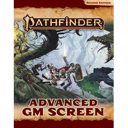 Pathfinder RPG: Advanced GM Screen (2nd ed)