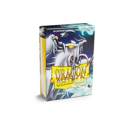 Dragon Shield Sleeves - Japanese Size Matte White (60 ct. in box)